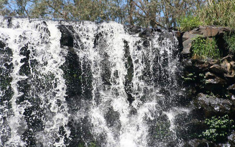 La route des cascades