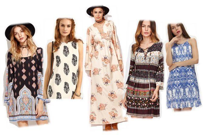 Petite sélection de 30 robes fleuris mi-saison ♡