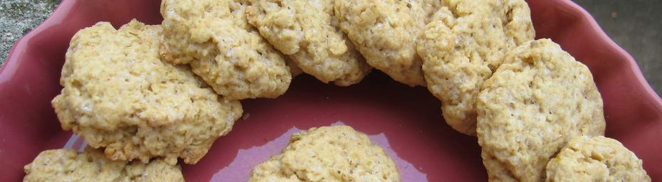 Biscuits croquants à l'orange de chez coquelibio