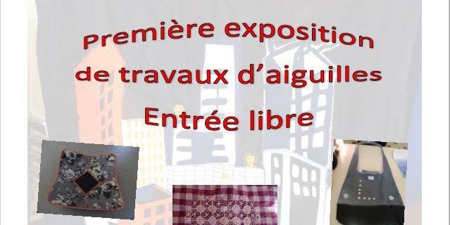 Exposition de travaux d'aiguille les 4 et 5 mars 2017 Salle polyvalente Les Choux (45)