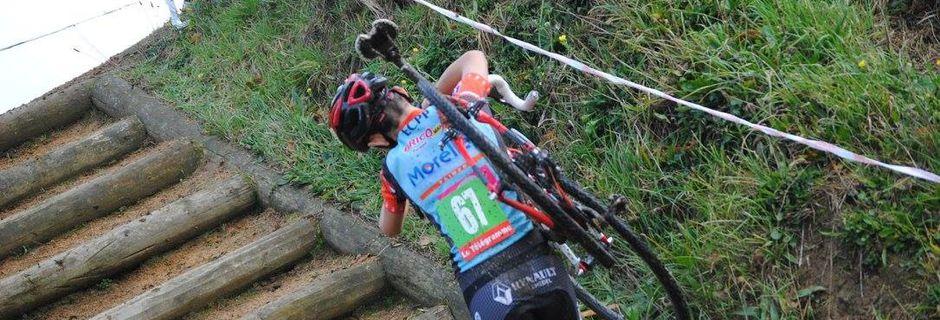 Championnat des Côtes d'Amor de Cyclo Cross 20 novembre 2016 Cohiniac (22) épreuve Cadet et Dames