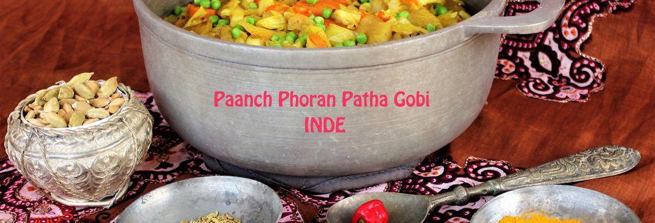 Chou aux Epices- Paanch Phoran Patha Gobi-Inde
