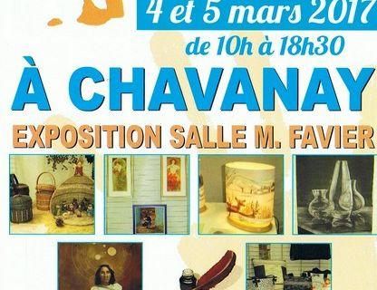 Exposition à Chavanay.