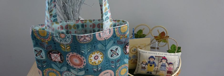Tote bag : sacs tissu - courses ou plage ?