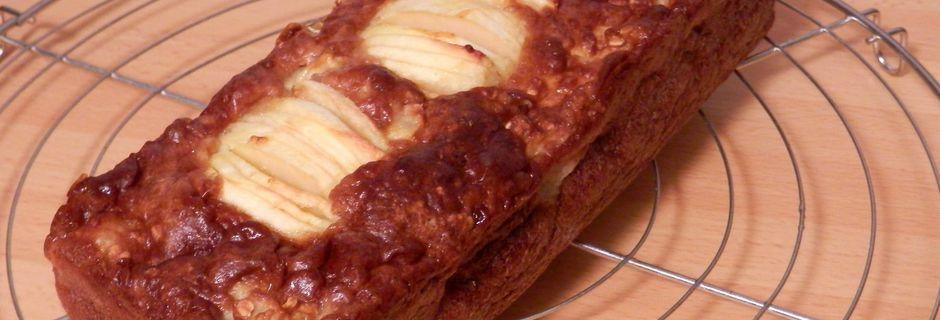 Cake aux Pommes et Flocons d'Avoine