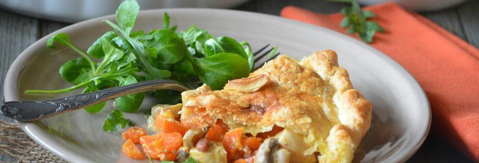 Chicken pie aux carottes
