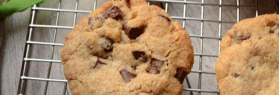 Cookies au chocolat et à la farine d'épeautre
