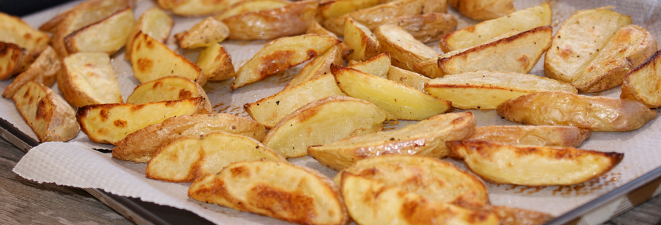 Potato wedges au four