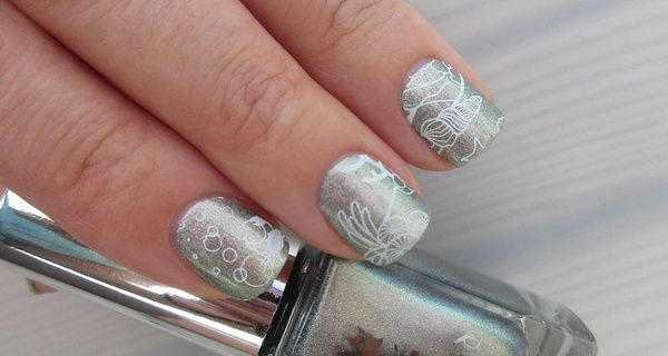Nail Art Stamping Yours Cosmetics - Deep Ocean