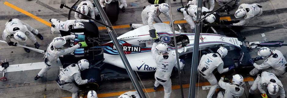 La valorisation de Williams a bondi de 35 millions d'euros depuis le 1er décembre