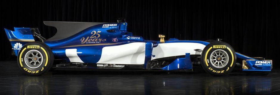 Peu de sponsors sur la nouvelle Sauber C36