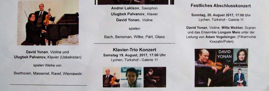 1. Intern. Musik- und Kulturtage in Lychen