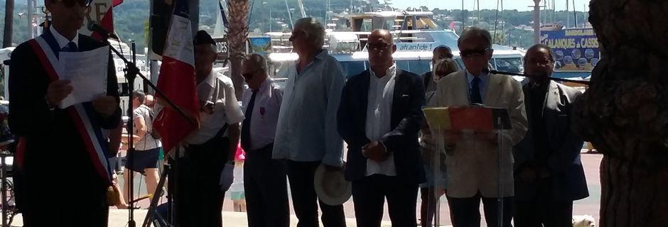 """Dimanche 16 juillet """"L'AMMAC"""" a participé à la journée nationale d'Hommage aux Justes"""