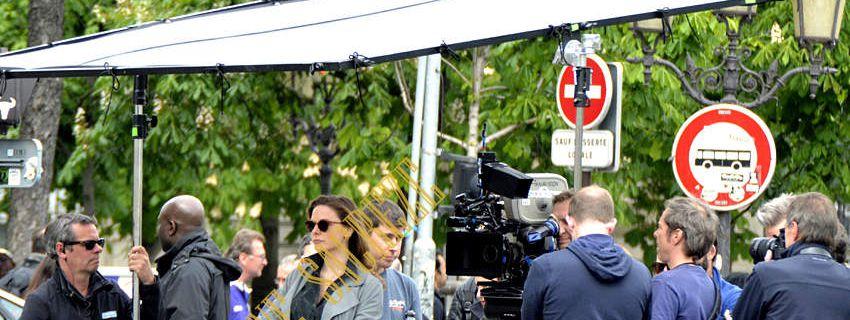 Mission Impossible 6 Tom Cruise, Vanessa Kirby et Rebecca Ferguson se retrouvent Quai Saint-Michel !