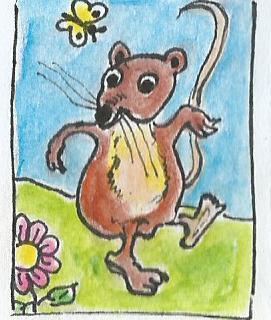 Frühlingsmaus
