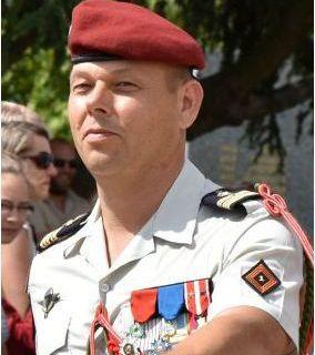 Le colonel Sébastien CHENEBEAU est le nouveau chef de corps du 1er RCP