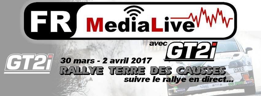 écoutez FR-MEDIA LIVE en direct du rallye terre des CAUSSES