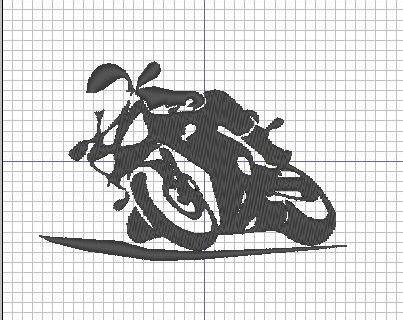 Broderie machine : Moto