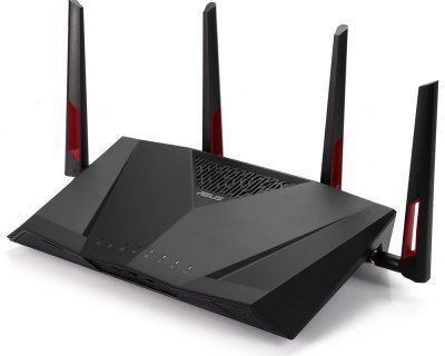 the ASUS RT-AC88U Wireless Router  - BLACK