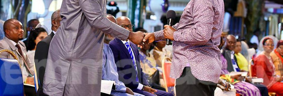 Liberian Presidential candidate visits Church, T.B Joshua reveals secret about election.