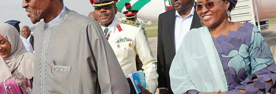President Buhari returns to Abuja after the D-8 meeting in Turkey [PHOTOS]