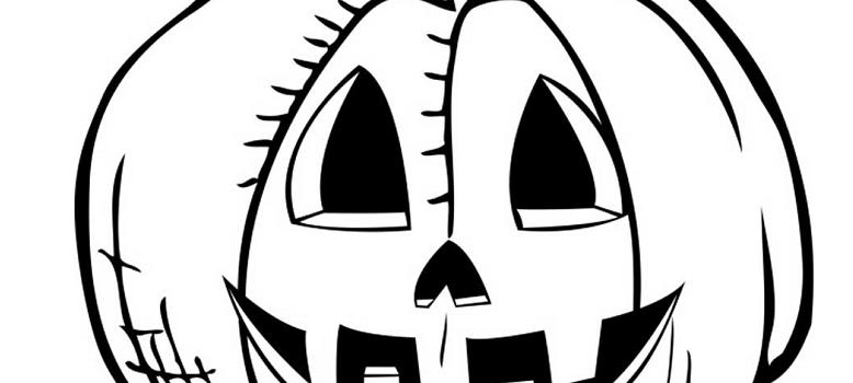 Halloween scarica e colora il disegno della zucca