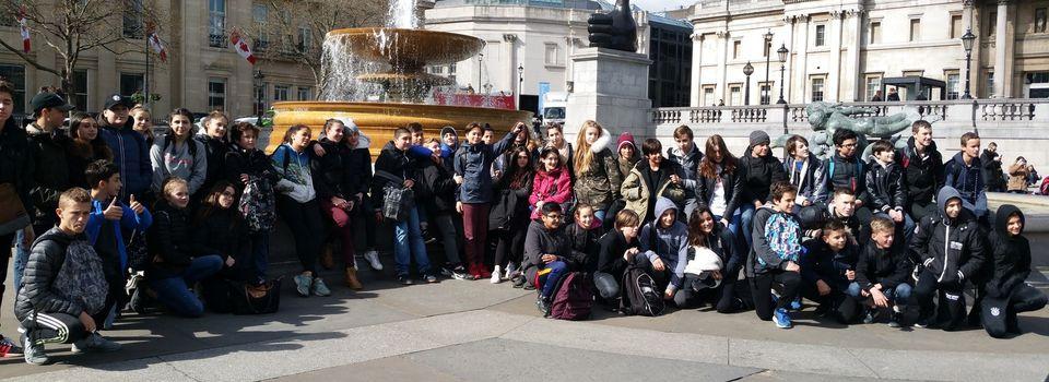 Voyage en Angleterre journée 1 et 2