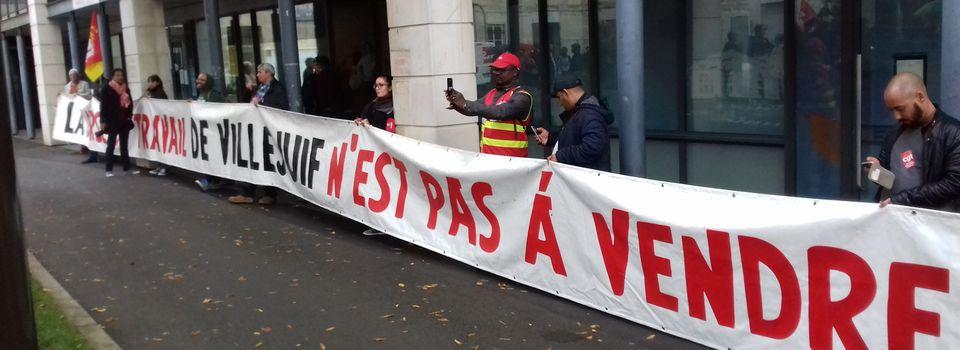 Villejuif : NON à l'expulsion de la Bourse du Travail.  Rassemblement devant la préfecture de Créteil lundi 25 septembre 12 H