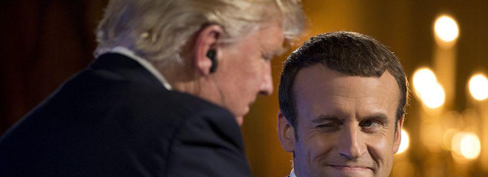 «Macron se déguise en Trump? C'est grotesque», la mise en scène de l'Elysée agace la Toile