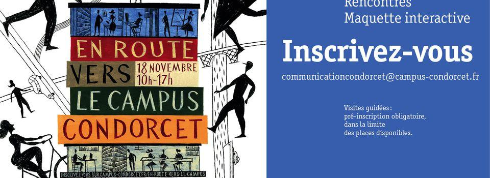 Le 18 novembre : en route vers le Campus Condorcet
