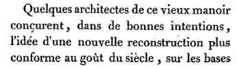 Le château incendié, conte qui n'est pas bleu (1816) - F.-M. Garnier.