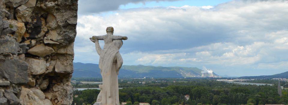 La Vierge De Châteauneuf-Du-Rhônes (Drôme 26)