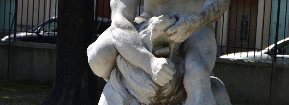Samson, Le Nazir, Terrassant Le Lion à Orange (Vaucluse 84)