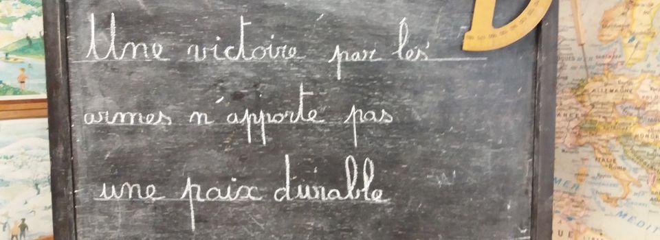 Le Certificat d'Etude Primaire à Saint-Paul-Trois-Châteaux (Drôme 26)