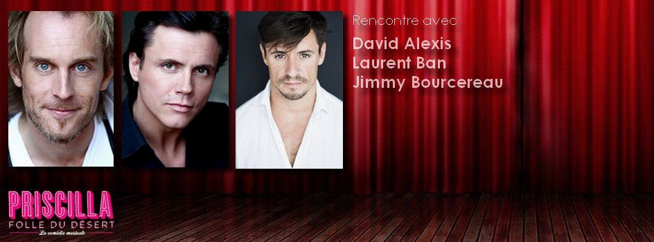 #Interview - Rencontre avec David Alexis, Laurent Ban et Jimmy Bourcereau