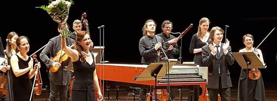 25 avril 2017 - Concert Patrizia Ciofi à la Philharmonie.