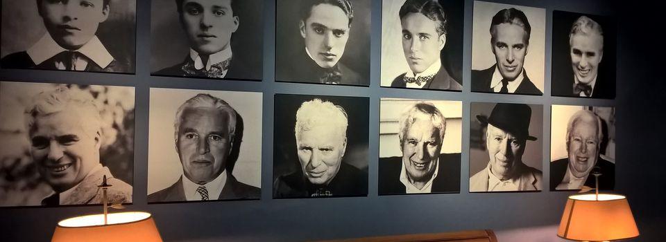 Chaplin, le grand artiste, sage et joyeux!