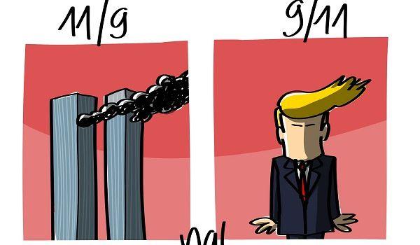 Les Etats-Unis dans la Trumpette