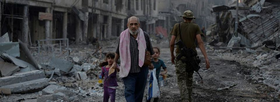 La coalition US aurait tué 8.000 civils à Mossoul, selon une ONG