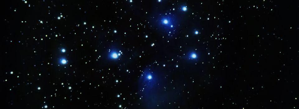 Les Pleiades - l'amas des 7 soeurs