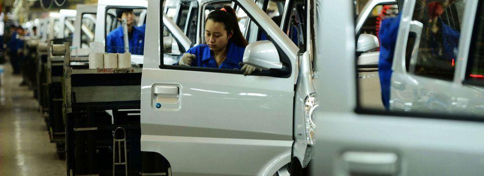 Les grands constructeurs automobile face à leurs homologues chinois
