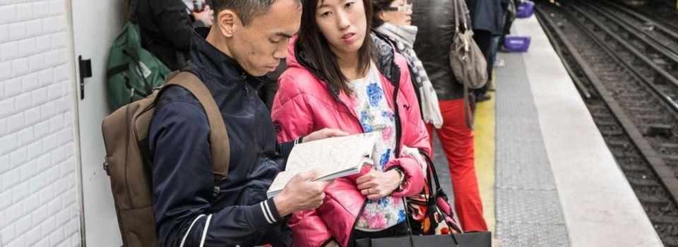 La RATP s'adapte aux touristes chinois