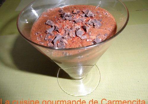 Mousse chocolat au piment d'espelette