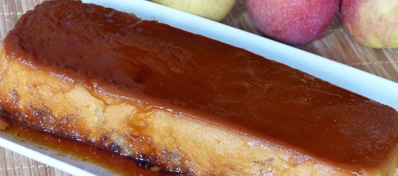 Terrine de pommes caramélisée au lait Gloria non sucré
