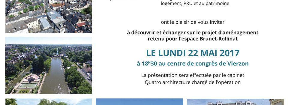 Le projet de l'îlot Brunet-Rollinat dévoilé lundi au centre des congrès