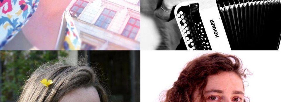 Flâneries en centre-ville avec quatre fant'artistes