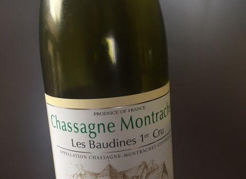 Chassagne Montrachet 1er les Baudines Bernard Morey