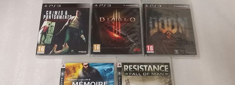 (PS3) Maj du 27/06/2017 de ma collection PS3
