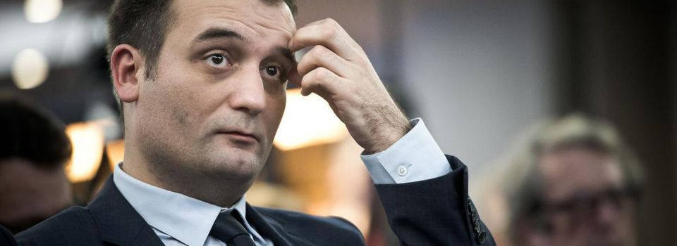 Florian Philippot dit bye bye au Front national