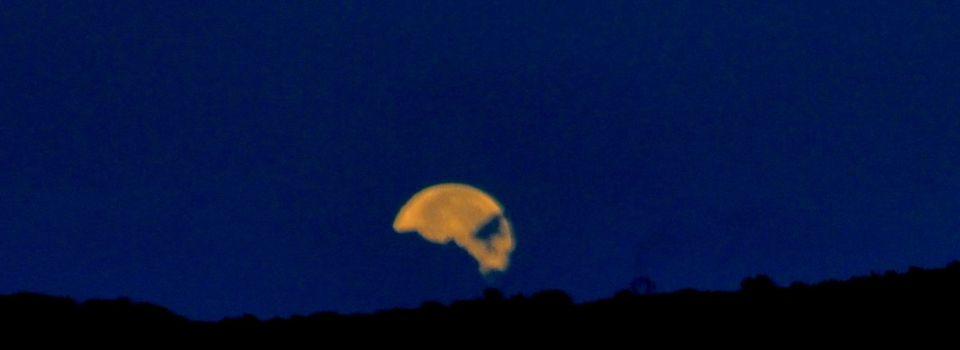 La nuit de l'éclipse de lune